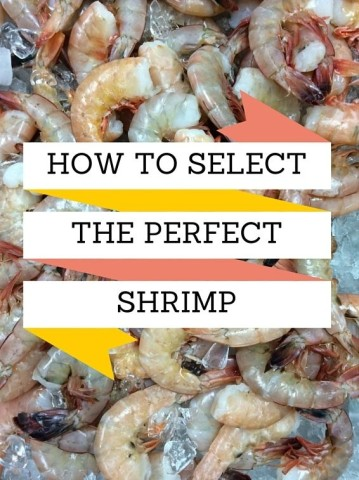 "Always buy shrimp by count not size. ""Count"" means the number of shrimp you'll get per pound. The smaller the number, the bigger the shrimp."