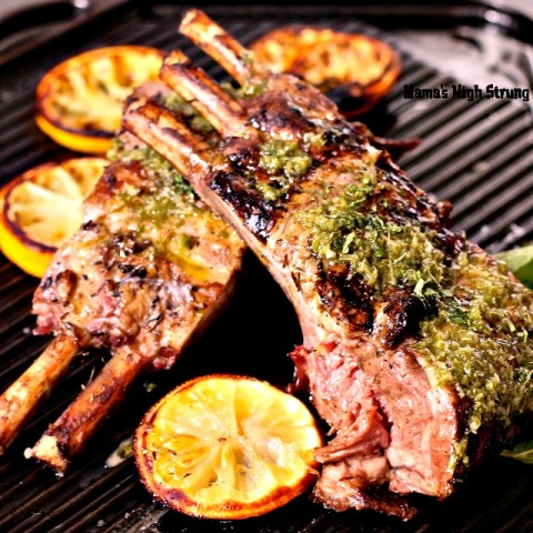 Roasted Rack of Lamb Mama's High Strung