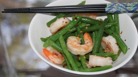 ... Simply Delicious Green Bean and Shrimp Stir-Fry - Mama's High Strung