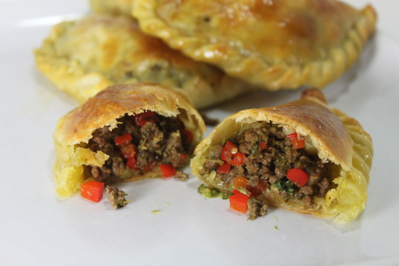 ... + Served: Fast Chimichurri Beef Empanadas - Mama's High Strung