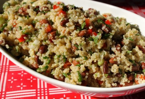Protein-Packed Picnic Quinoa Salad