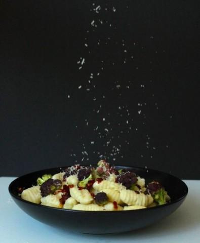 Purple Cauliflower and Gnocchi 1
