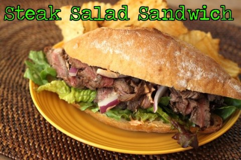Steak Salad Sandwich