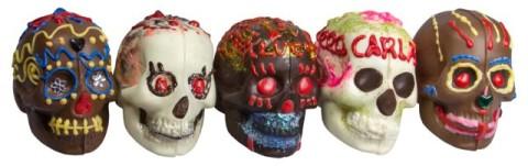 Morkes Sugar and Chocolate Skulls