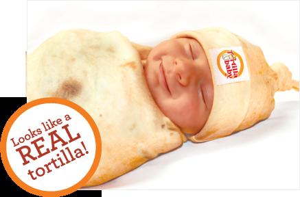 Interesting food news: Baby Burrito Blanket