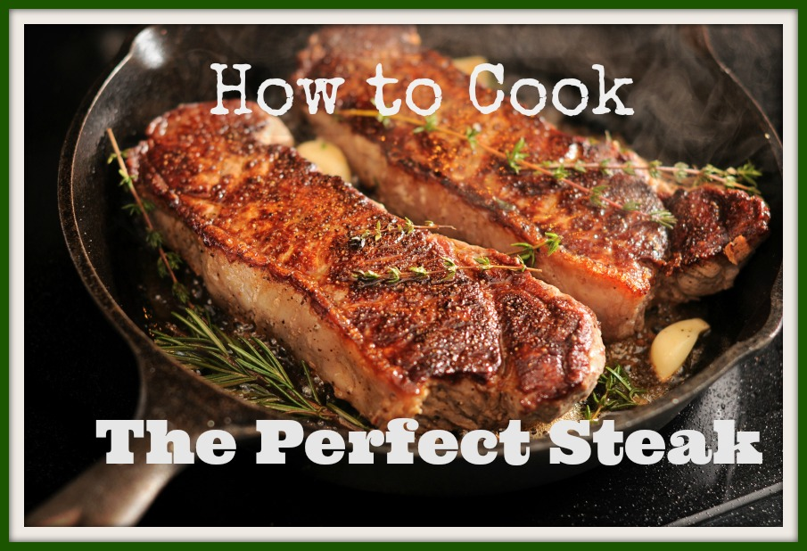Perfect Pan Seared Steaks Recipes — Dishmaps