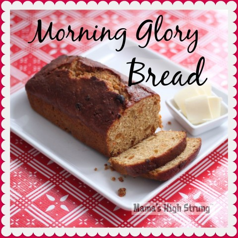 Morning Glory Bread