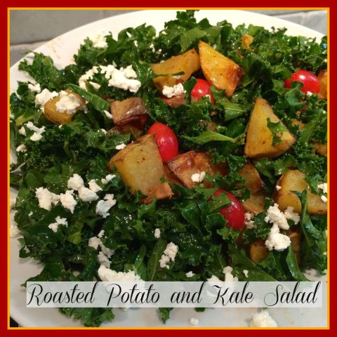 Roasted Potato and Kale Salad