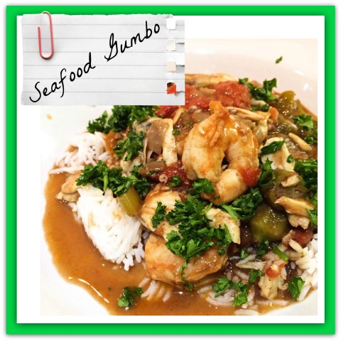 Mama's High Strung ® » Blog Archive Plated + Served: Seafood Gumbo ...