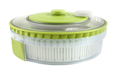 Dexas Turbo Fan Collapsible Salad Spinner