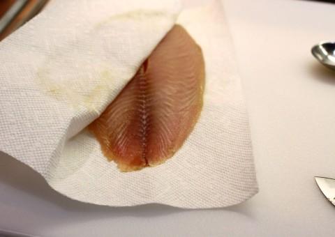 How to Sauté Fish-Pat Dry Your Fish