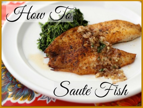 How to Sauté Fish