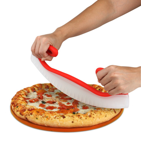 Pi Day with Pizza Cutter Rocker Blade