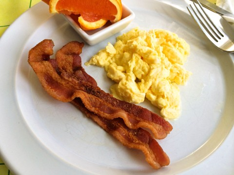Perfect Scrambled Eggs in Chantal's Induction 21 Steel™ Fry Pan