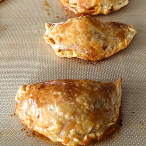 Cheesy Chicken and Chorizo Empanadas