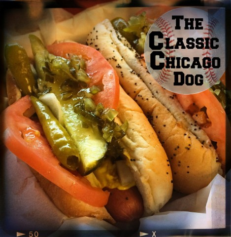 Happy Birthday Wrigley Field Classic Chicago Dog