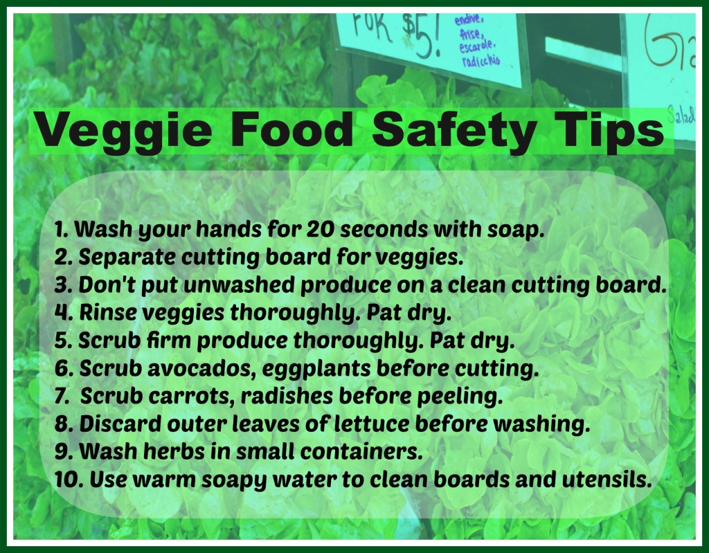 Veggie Food Safety-Food Poisoning