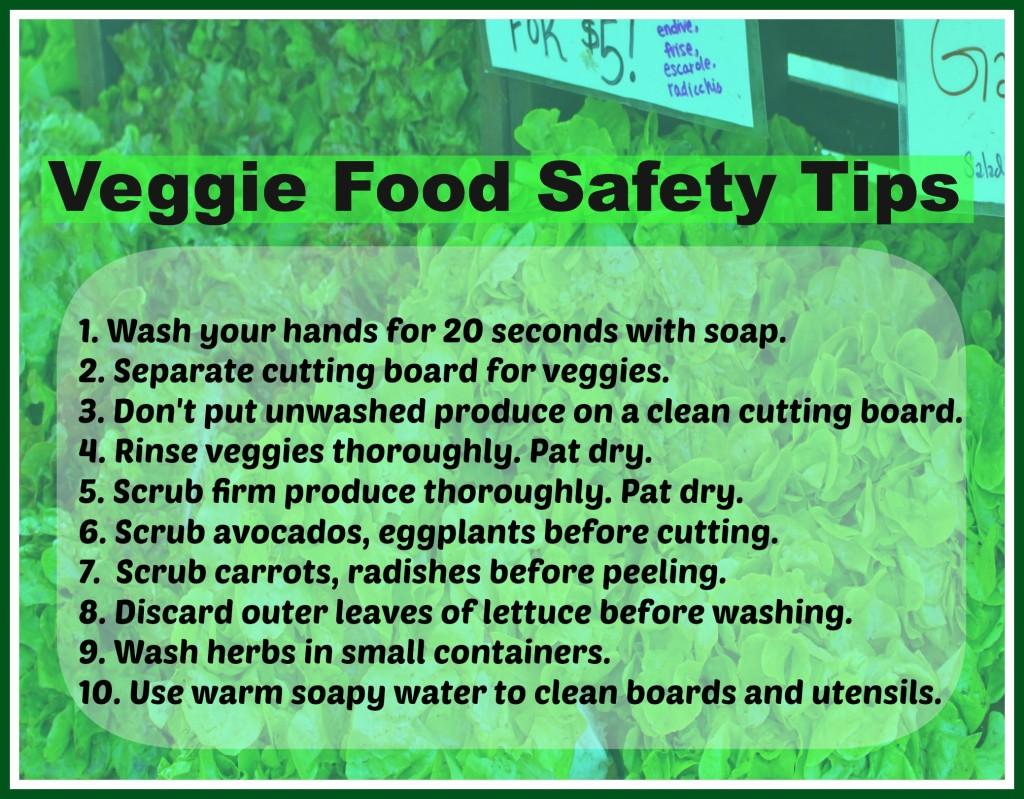Veggie Food Safety-Food Poisoning
