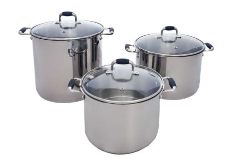 Pauli Cookware 16 quart, 11 quart 7 quart