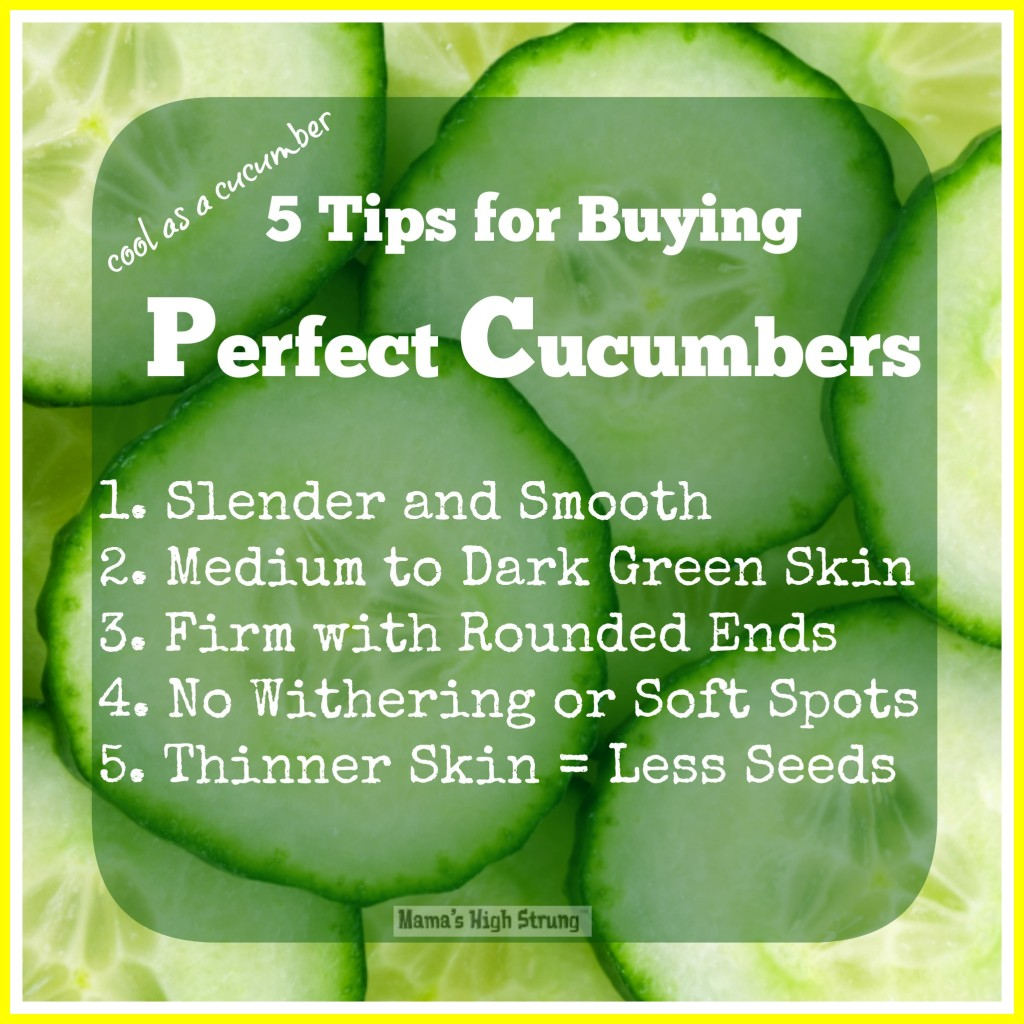 5 Tips for Buying Perfect Cucumbers