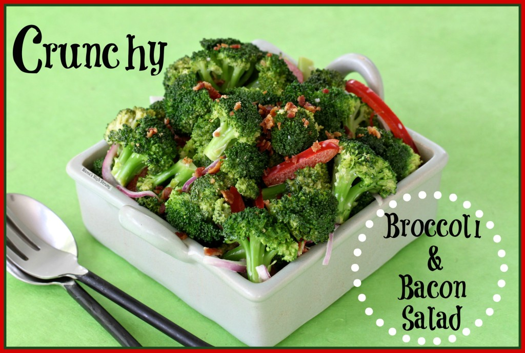 Crunchy Broccoli & Bacon Salad