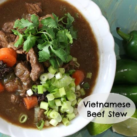 Mama's High Strung-Vietnamese Beef Stew