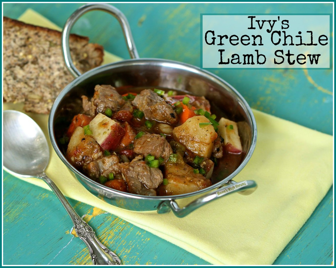 Fall into Autumn with this Green Chile Lamb Stew - MamásLatinas