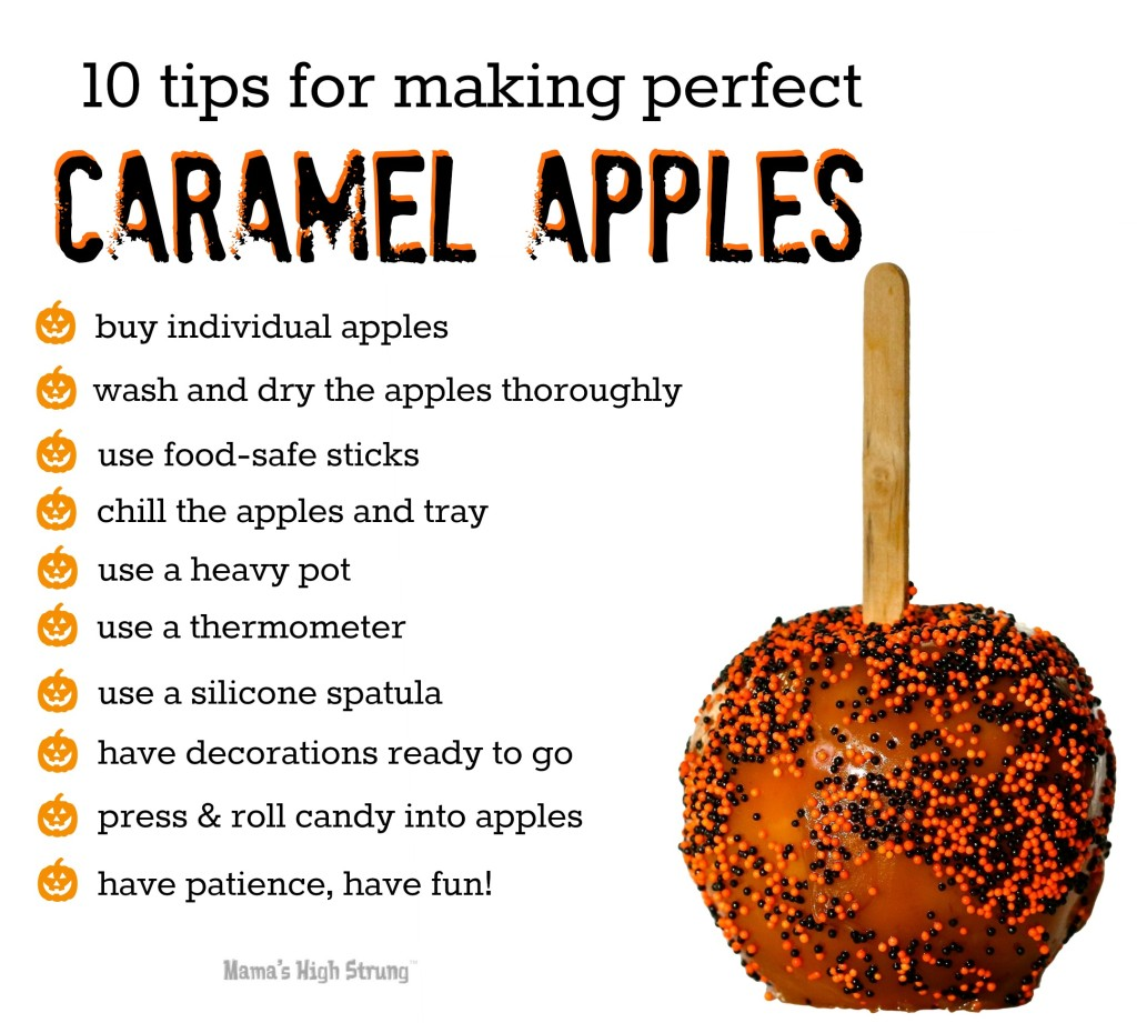 10 Tips for Making Perfect Caramel Apples