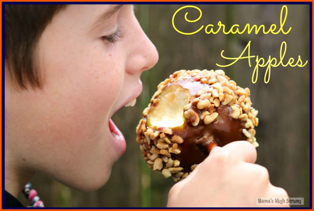 Mama's High Strung - Caramel Apples Recipe