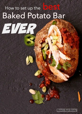 The Best Baked Potato Bar Ever