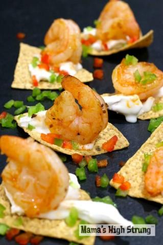 MHS Shrimp and Brie Nachos