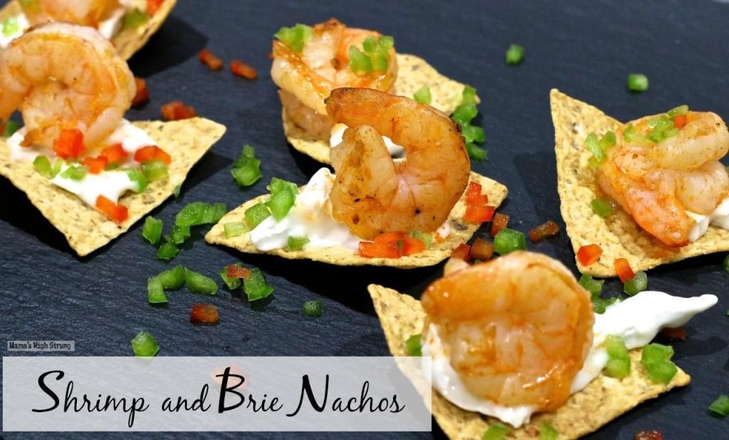 Mama's High Strung Shrimp and Brie Nachos
