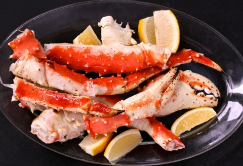 King Crab Legs: http://mom.me/food/16627-king-crab-legs-drawn-butter/