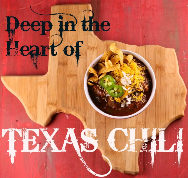 How long has it been since you've had a big, thick steaming bowl of REAL Texas Chili? Well, that's too long! Here's an easy recipe for the real thing!