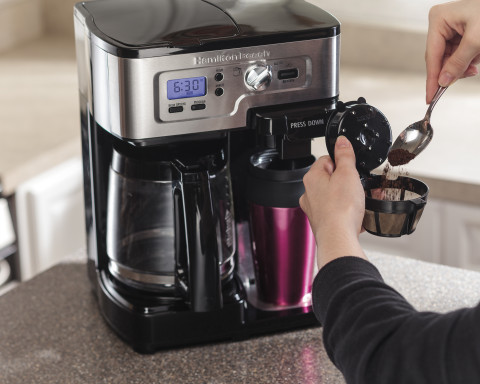 Keurig Coffee Maker At Kroger : Hamilton Beach FlexBrew Coffeemaker Giveaway - MamasLatinas