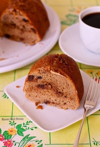 The secret to the Best Gluten Free Coffee Cake Ever is the coffee and chocolate combo that adds a delicious depth of flavor. Mama's High Strung