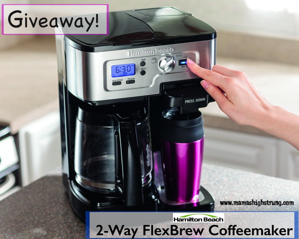 Whether you're having a single-serve coffee kinda day or you need the a 12-cup carafe to get by, the FlexBrew Coffeemaker Giveaway has you covered.