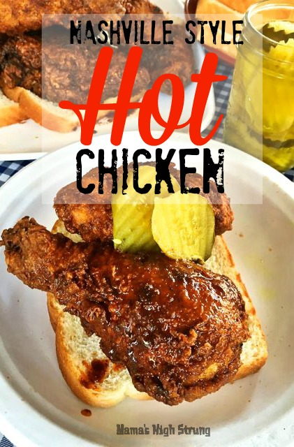 "What makes Nashville Style Hot Chicken so unique is the ""sauce"" that is brushed, dipped or poured over the chicken just before serving."